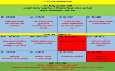 Pôlétamine fait sa rentrée – Journée événementielle QVT – Vendredi le 18 Septembre 2020